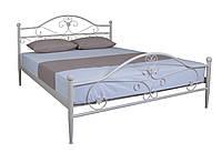 Белая железная кровать двуспальная Патриция, фото 1