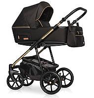 Детская коляска универсальная 2 в 1 Riko Swift Premium 11 Gold (Рико Свифт, Польша)