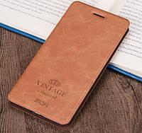Чехол-книжка MOFI Vintage Series для Xiaomi Pocophone F1 brown, фото 1