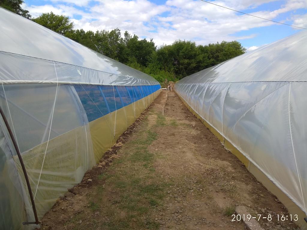 внутренние усиления фермерской теплицы