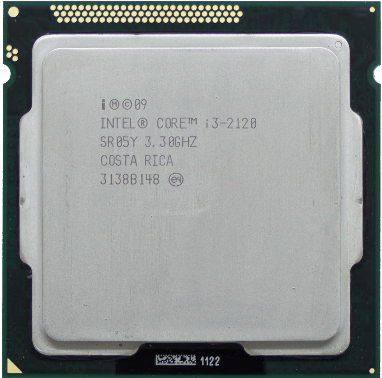 Процессор Intel Core i3-2120 3.3GHz/3MB/5GT/s (SR05Y) s1155, tray