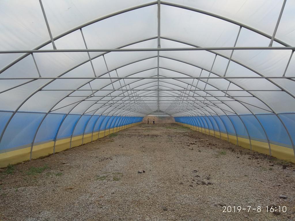 теплицы фермерские под два слоя пленки в Киевской области