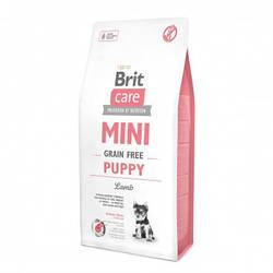 Корм Brit Care GF Mini Puppy Lamb Брит Каре для цуценят малих порід з ягням 7 кг