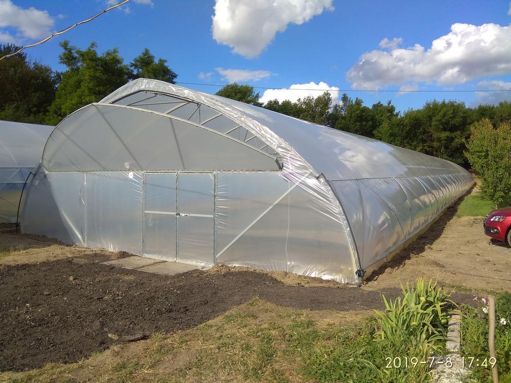 идеально ровное строительство фермерских теплиц