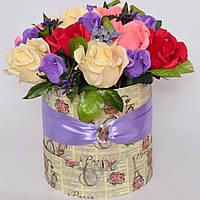 Букет из конфет / сладкий букет / букет в тубусе / букет з цукерок / оригинальный букет