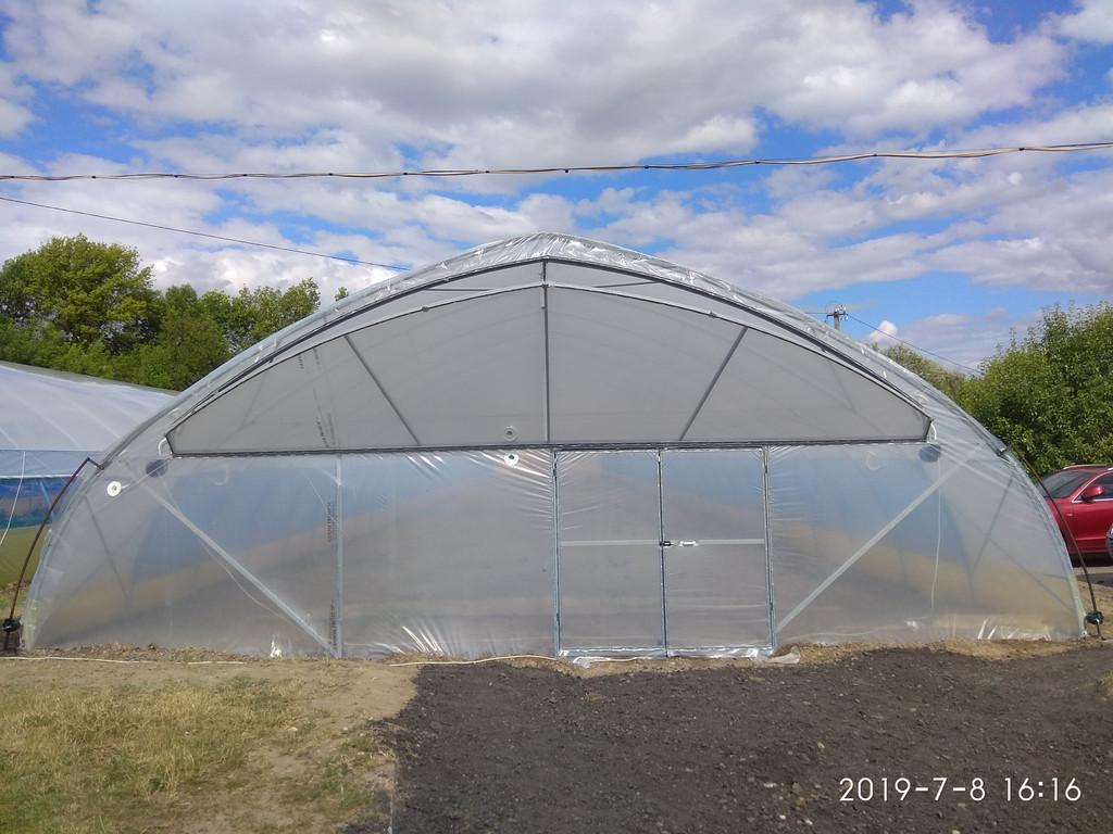 строительство теплицы под ключ в Киевской области