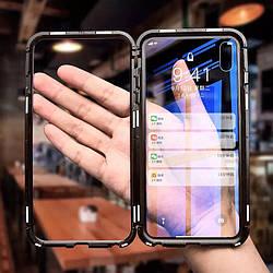 Чехол Магнитный  для IPhone X/Iphone XS Противоударный + стекло в подарок