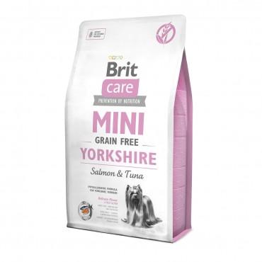 Корм Brit Care GF Mini Yorkshire Брит Каре для дорослих собак породи Йоркширський тер'єр 2 кг