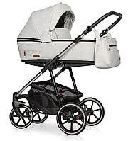 Детская коляска универсальная 2 в 1 Riko Swift Premium 14 Platinum (Рико Свифт, Польша)