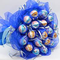 Букет из конфет / букет из киндеров / киндерсюрприз / букет з цукерок / оригинальный букет / подарок ребёнку