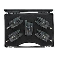 Набор электронных сигнализаторов поклевки GC SN-45*4, 4 + 1