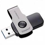 Флешка USB Kingston DataTraveler Swivl 32GB USB 3.0 (DTSWIVL/32GB) Black, фото 2