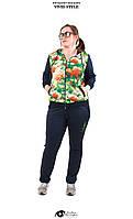 Яркий спортивный костюм, весна-осень, распродажа размеры !!50 52!!