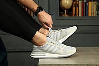 "Adidas ZX 500 RM ""Cloud White"" Grey мужские кроссовки, фото 1"