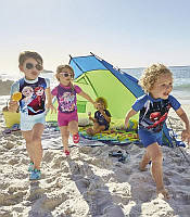 Детский защитный UV Protection Купальники УФ-защита 50+