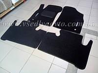 Ворсовые коврики Geely Emgrand X7 (Черные)