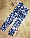Стильные котоновые брюки скинни джегинсы на девочку в цветочек H&M (Англия), фото 2