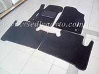 Ворсовые коврики Geely Emgrand X7 (Серые)