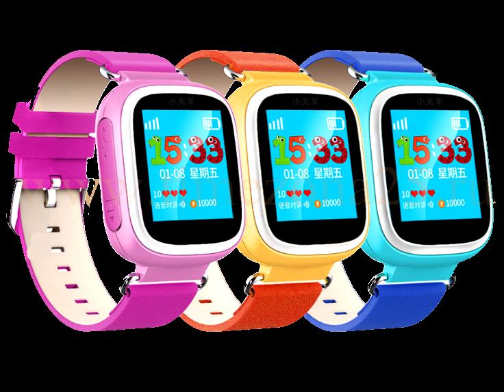 Детские часы Smart Baby Watch Q70