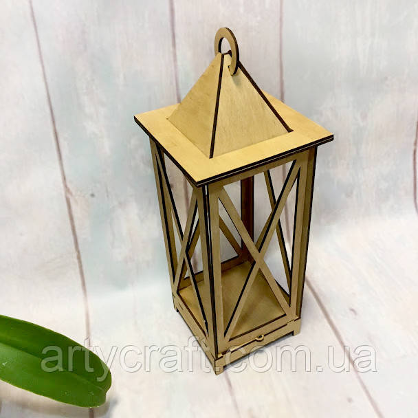 Декоративный фонарь подсвечник 45 см Дуб