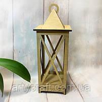 Декоративный фонарь подсвечник 45 см Дуб, фото 2