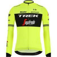 Велокофта Santini мужская replica l/s jersey trek segafredo, M L XL XXL XXXL (MD)