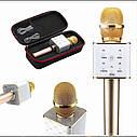 Беспроводной микрофон-караоке bluetooth Q7(коробка), фото 5