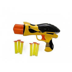 """Бластер Mission-Target """"Шмель"""" желтый WG102613-1"""