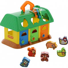 Логический домик для зверей Polesie зеленый 9166-2