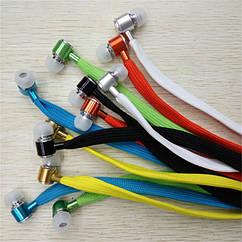 Наушники шнурки c микрофоном EV-303