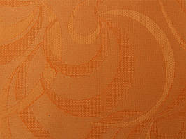 Готовые рулонные шторы Ткань Фестиваль Оранжевый