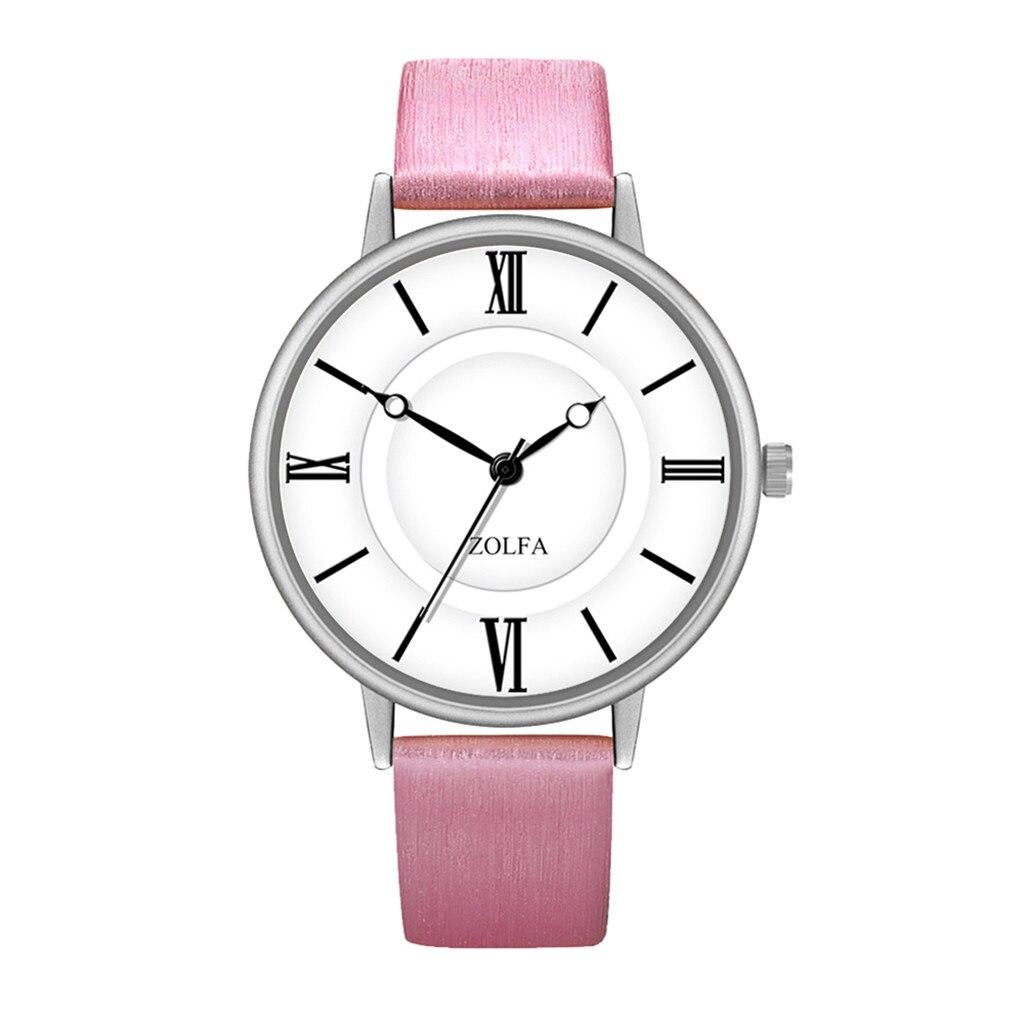 Женские часы Zolfa с розовым ремешком | 9115-2