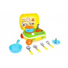 """Игрушка ТЕХНОК """"Кухня с набором посуды ТехноК"""" 6078"""