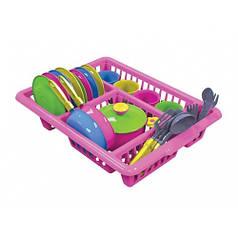 Игрушка Technok кухонный набор 5 розовый 3282-1