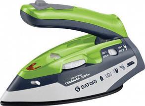 Утюг Satori SI-1010-GR - зеленый, керамика, дорожный