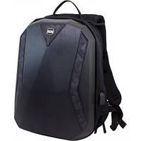 Рюкзак для мальчика Winner черный 411 (+ cлот переходник для USB)
