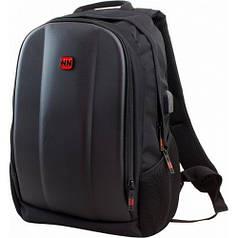 Рюкзак для мальчика Winner 412-серый (+ cлот переходник для USB)