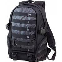 Рюкзак для мальчика Winner черный 407 (+ cлот переходник для USB)