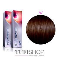 Краска для волос Wella Illumina Color № 4/ (средний коричневый)