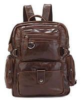 Рюкзак кожаный Vintage 14232 кожаный коричневый