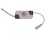 LED панель Luxel 12W 170х10мм Круглая, фото 2