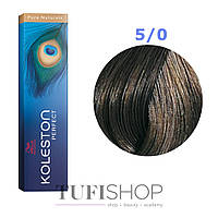 Краска для волос Wella Koleston Perfect № 5/0 (очень яркий блондин) - pure natural
