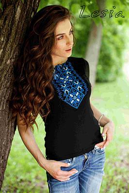 Жіноча вишиванка Подолянка синя