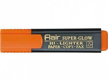 Текстовый маркер  Flair Superglow Hi-lighter, 1-5мм, оранжевый