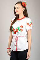 """Женская вышиванка """"Маки"""" №4, фото 1"""