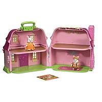 Игровой набор LIL WOODZEEZ Цветочный дом и Семья Кроликов 6103M