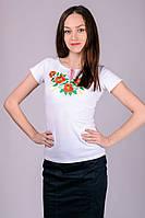 """Женская футболка-вышиванка """"Маки"""""""