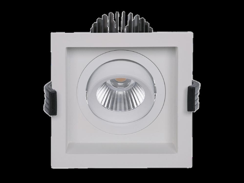 LED встраиваемый светильник IP20, Световые технологии RADO 2х07 BL D45 4000K [1278000430]
