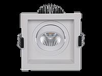 LED встраиваемый светильник IP20, Световые технологии RADO 2х18 WH D45 4000K [1278000370]