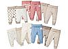 Детские штанишки, штаны для малышей, ползунки lupilu с 50 до 92 рост из органического хлопка